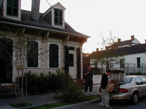 The Creole Cottage on Barracks Street