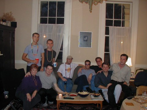 2001 Orpheus Party