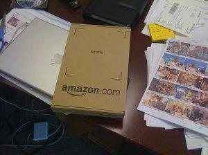 Yay! Kindle is here!