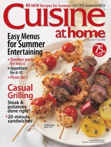Cuisine at Home - A Serial Cookbook