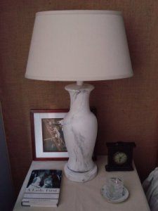 The Vamp's Stunning Alabaster Lamp