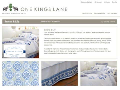 Great bedding - not on sale yet, but soon!