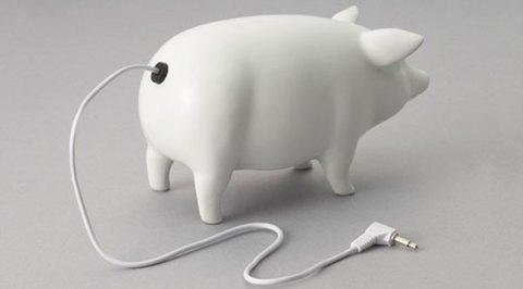 Loving this little piggy.
