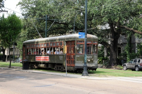 And home is only a streetcar ride away, down St. Charles Avenue.