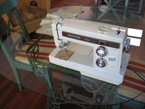 Vintage 1974 Kenmore Sewing Machine